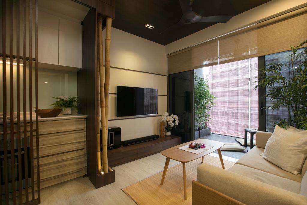 Minimalistic, Condo, Living Room, Parc Centros, Interior Designer, The Interior Place