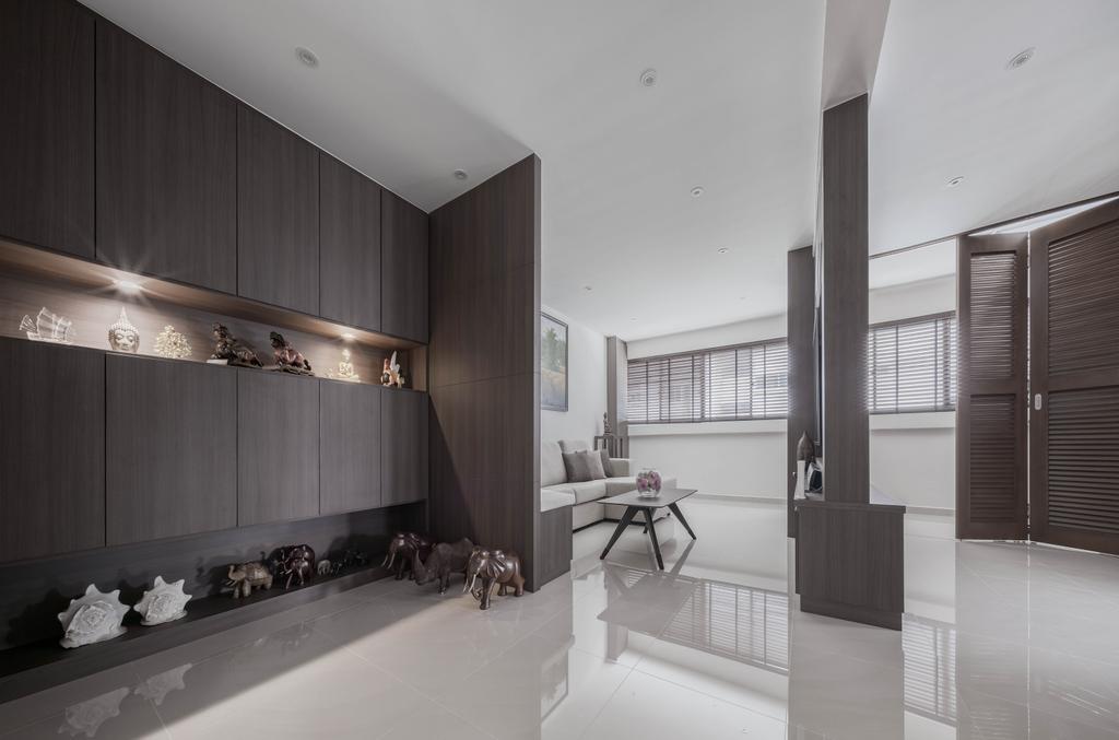 Contemporary, HDB, Living Room, Pending Road, Interior Designer, Zenith Arc