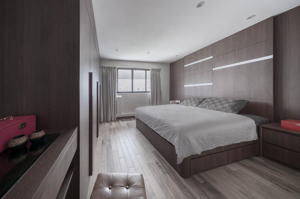 Contemporary, HDB, Bedroom, Pending Road, Interior Designer, Zenith Arc