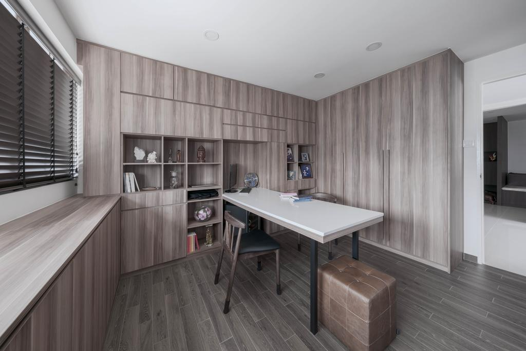 Contemporary, HDB, Study, Pending Road, Interior Designer, Zenith Arc
