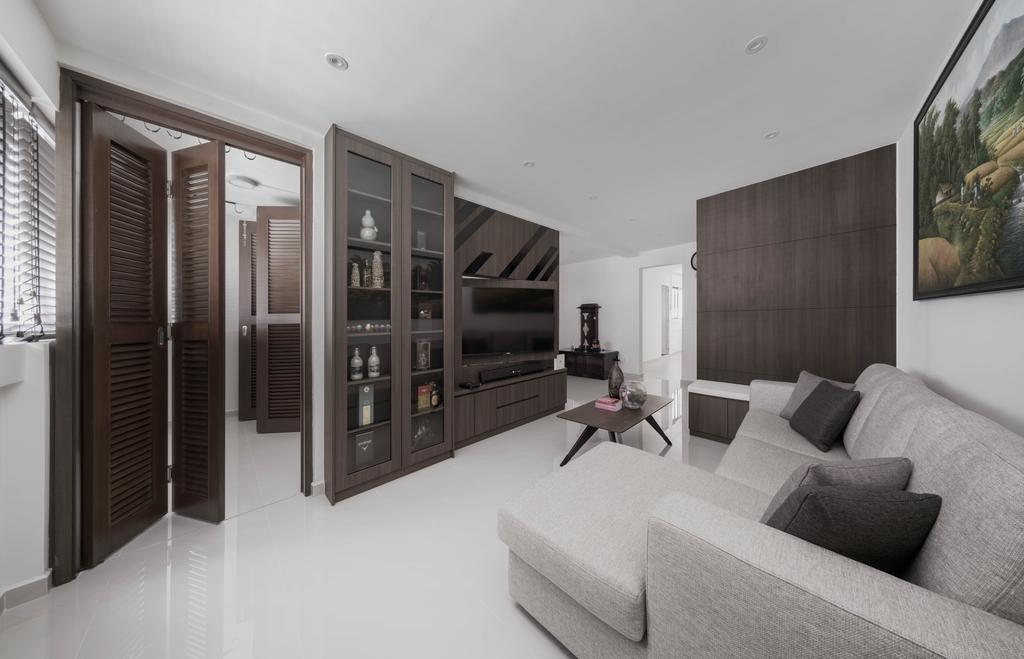 Contemporary, HDB, Pending Road, Interior Designer, Zenith Arc