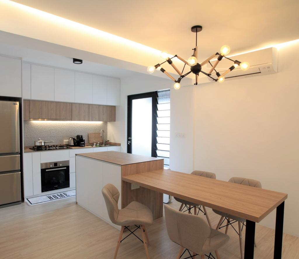 Scandinavian, HDB, Anchorvale Crescent, Interior Designer, Intrigue-d Design Consultancy