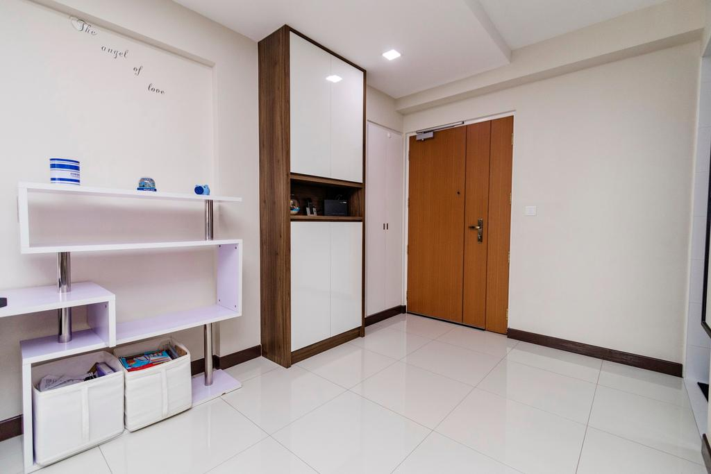 Modern, HDB, Living Room, Fernvale, Interior Designer, Great Oasis Interior Design