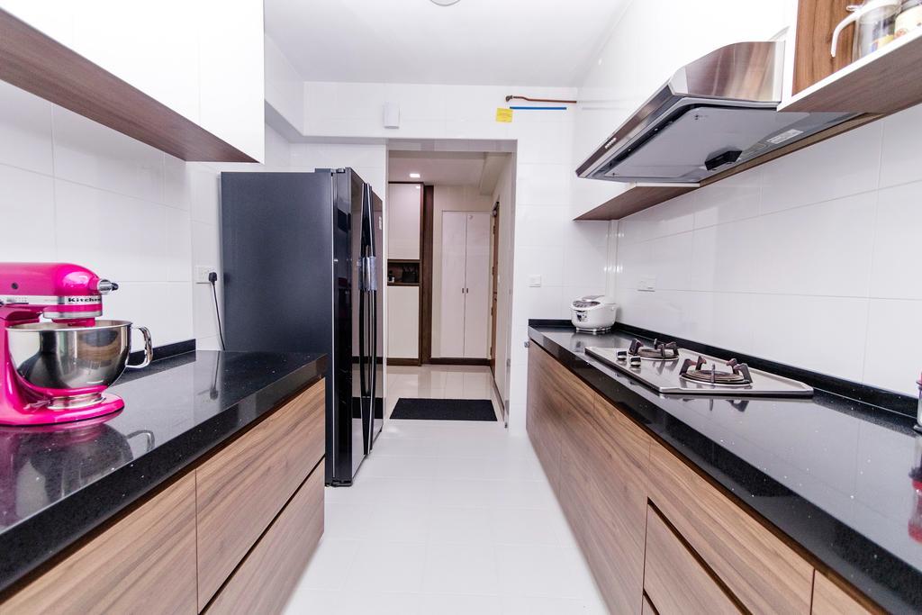 Modern, HDB, Kitchen, Fernvale, Interior Designer, Great Oasis Interior Design