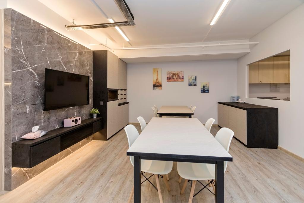 Serangoon North, Commercial, Interior Designer, Great Oasis Interior Design, Scandinavian