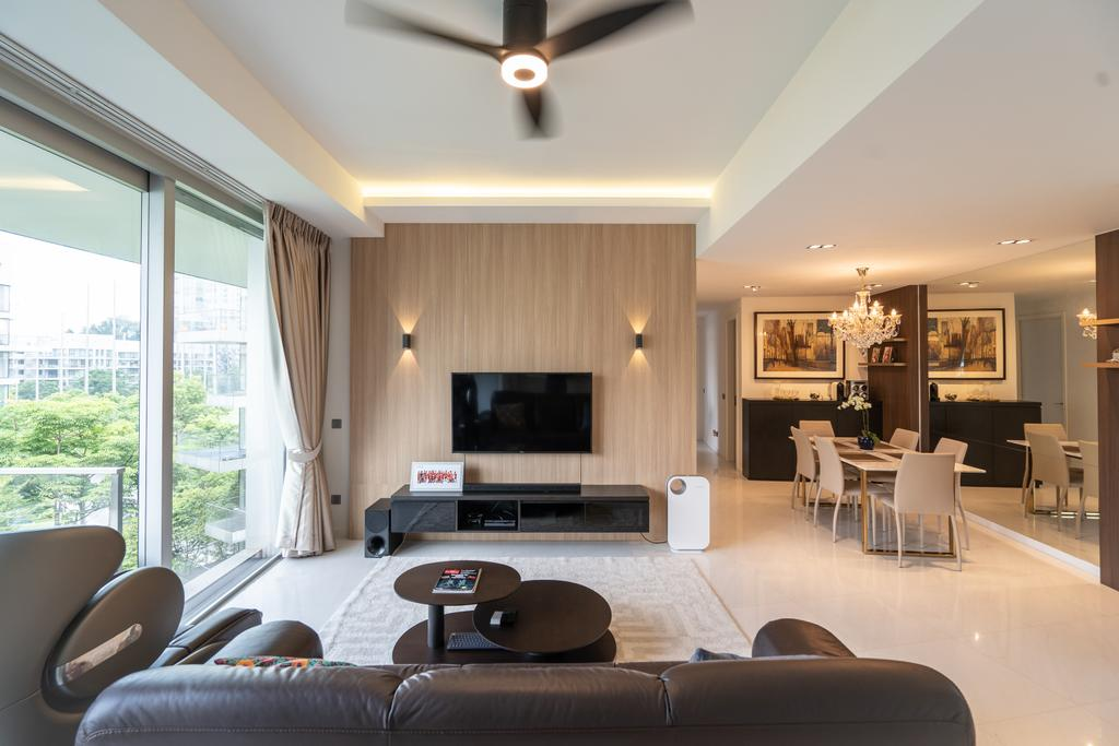 Modern, Condo, Living Room, Reflections at Keppel Bay, Interior Designer, MADE Artisan ID