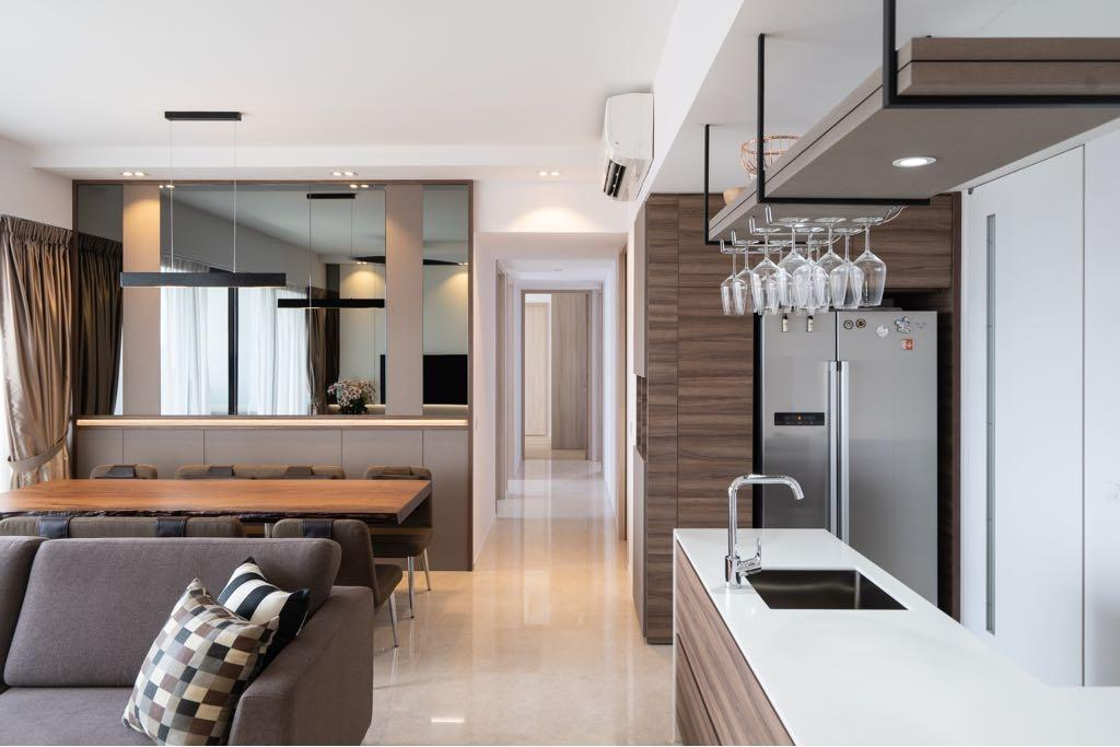 Modern, Condo, Kitchen, The Panorama, Interior Designer, MADE Artisan ID, Contemporary