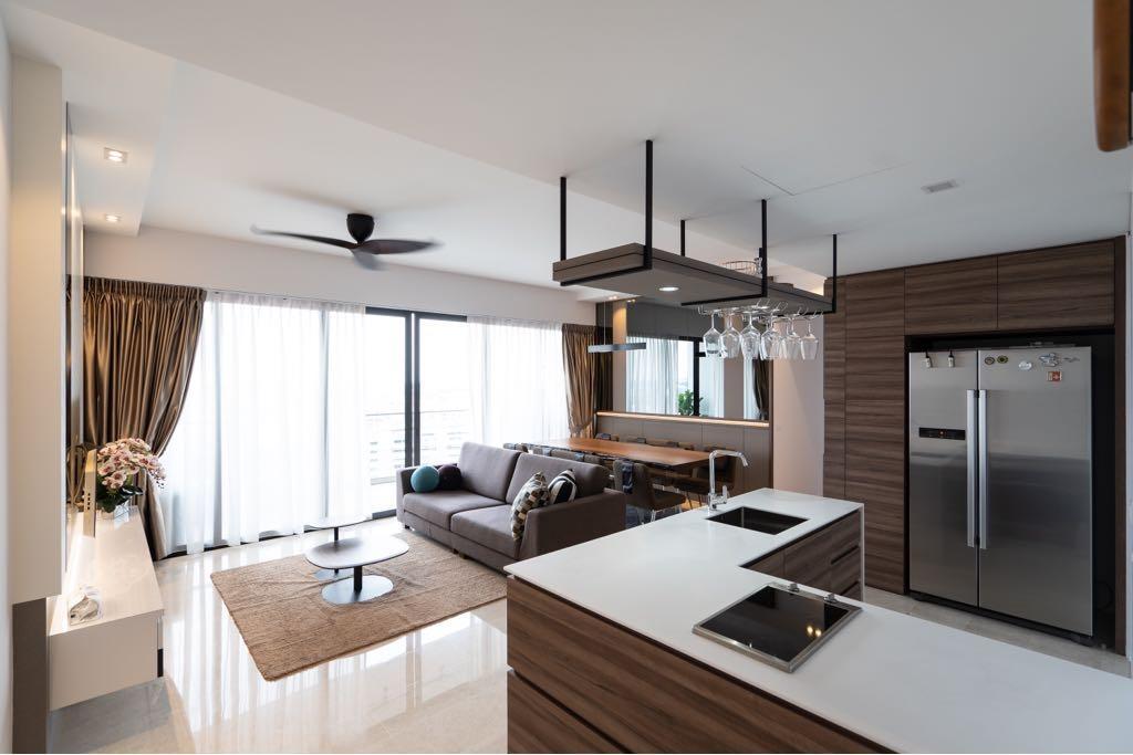 Modern, Condo, Kitchen, The Panorama, Interior Designer, MADE Artisan ID, Contemporary