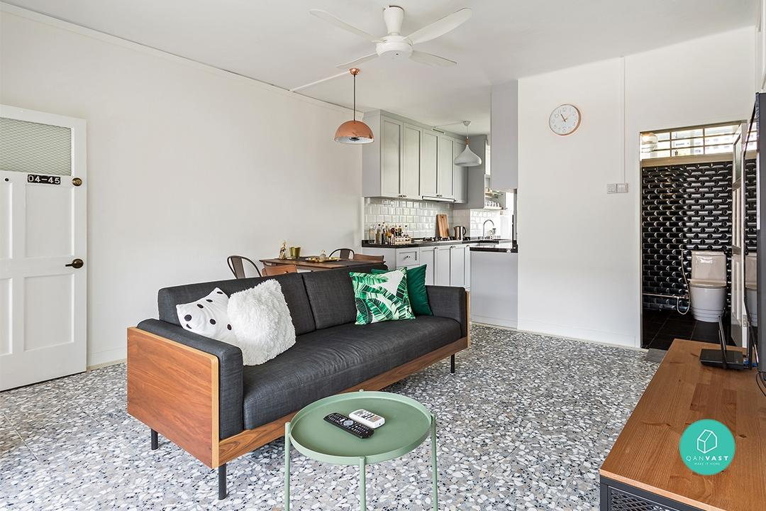 terrazzo tile retro popular