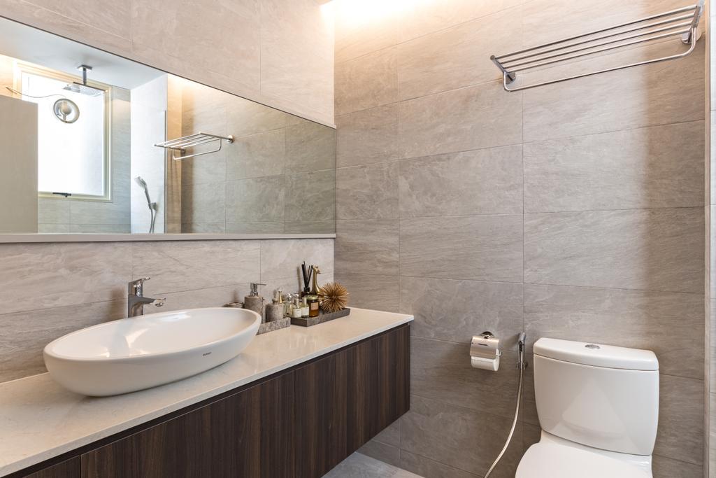 Contemporary, Condo, Bathroom, Emerald East, Interior Designer, Habit