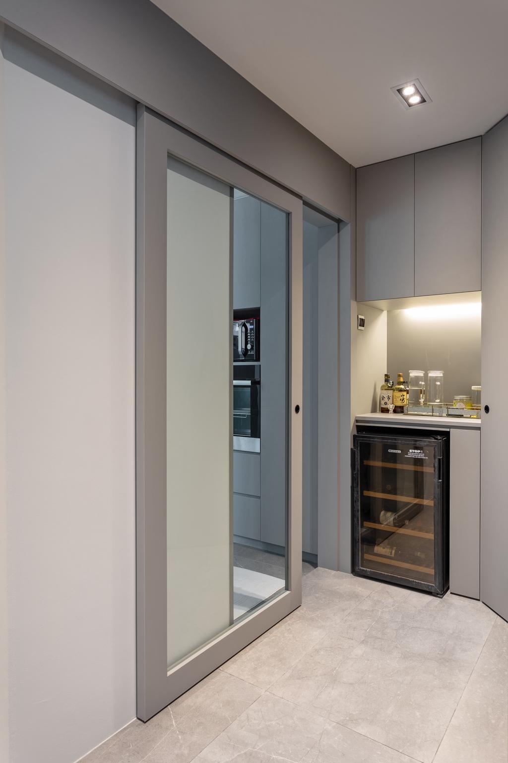 Contemporary, Condo, Kitchen, Emerald East, Interior Designer, Habit