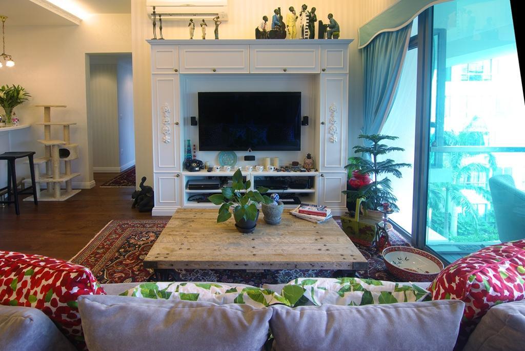 Modern, Condo, Living Room, Grand Duchess, Interior Designer, Create