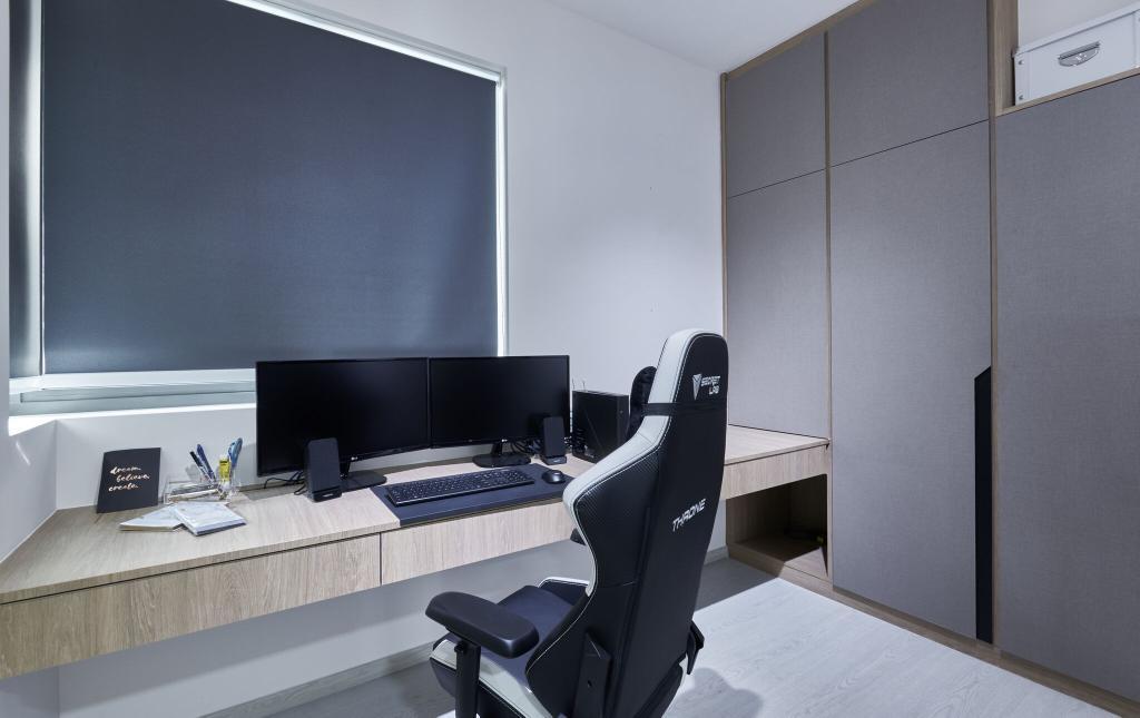 Modern, Condo, Study, The Terrace, Interior Designer, Charlotte's Carpentry