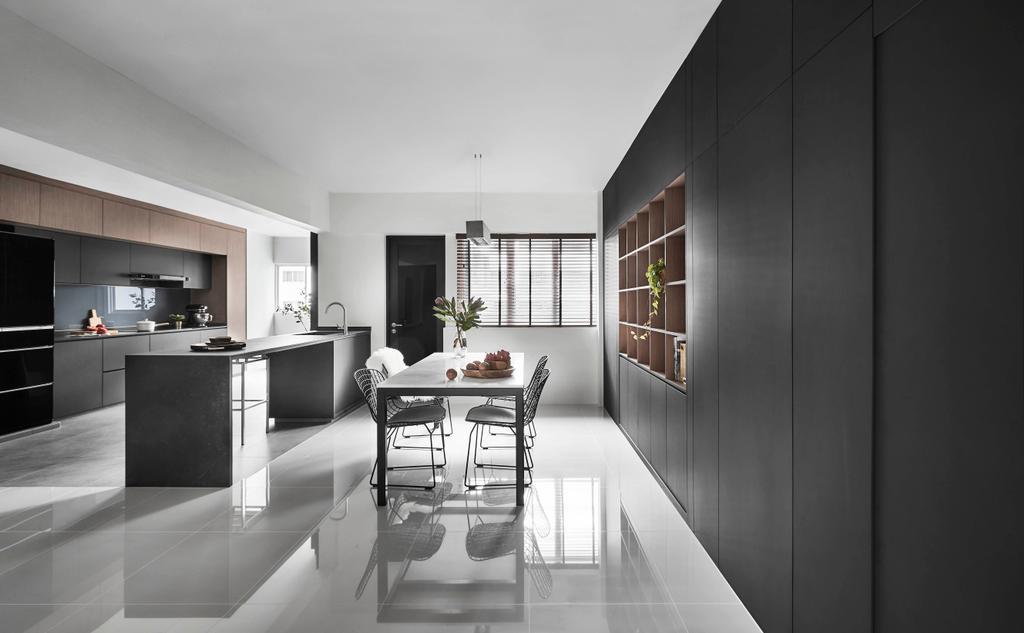 Modern, HDB, Living Room, Hougang, Interior Designer, Dan's Workshop, Contemporary