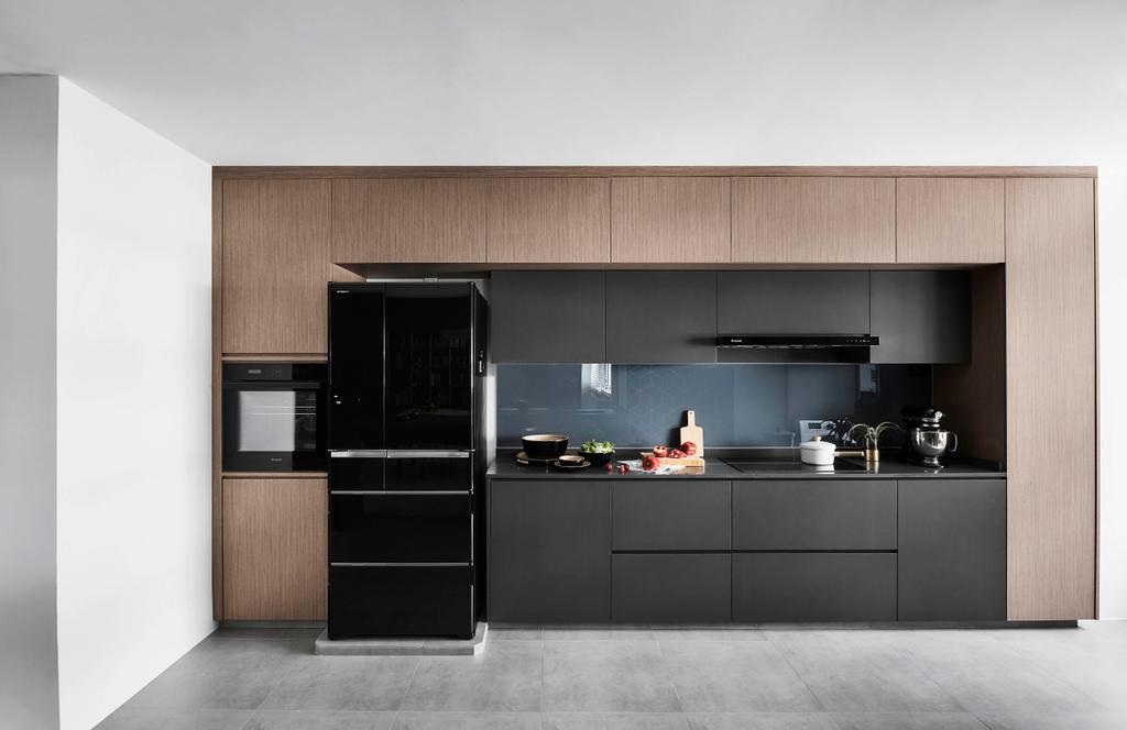 Modern, HDB, Kitchen, Hougang, Interior Designer, Dan's Workshop, Contemporary