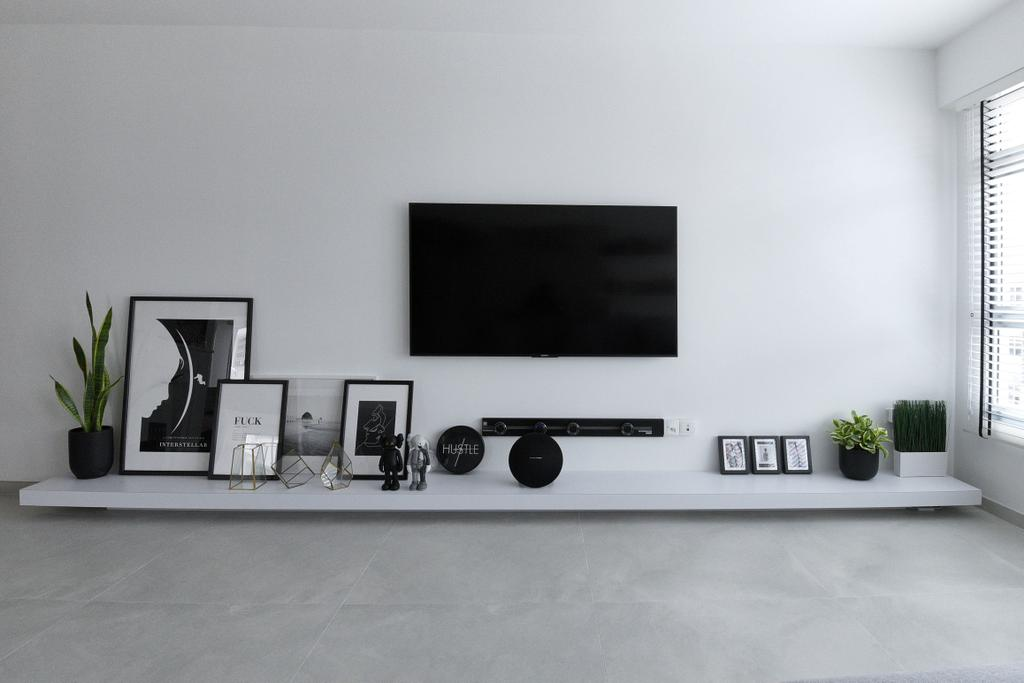 Modern, HDB, Living Room, Bukit Batok West Avenue 8, Interior Designer, Colourbox Interior, Contemporary