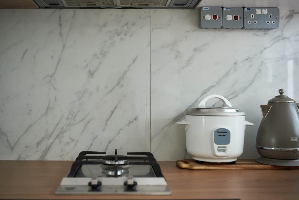 Eclectic, HDB, Kitchen, Moh Guan Terrace, Interior Designer, M3 Studio, Industrial