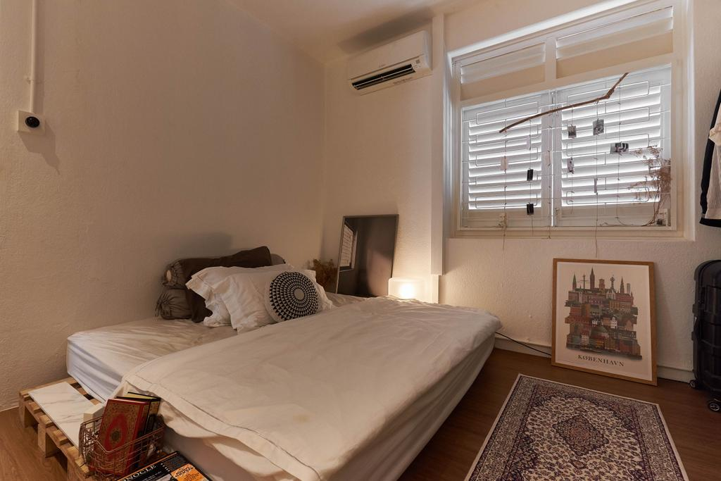 Eclectic, HDB, Bedroom, Moh Guan Terrace, Interior Designer, M3 Studio, Industrial