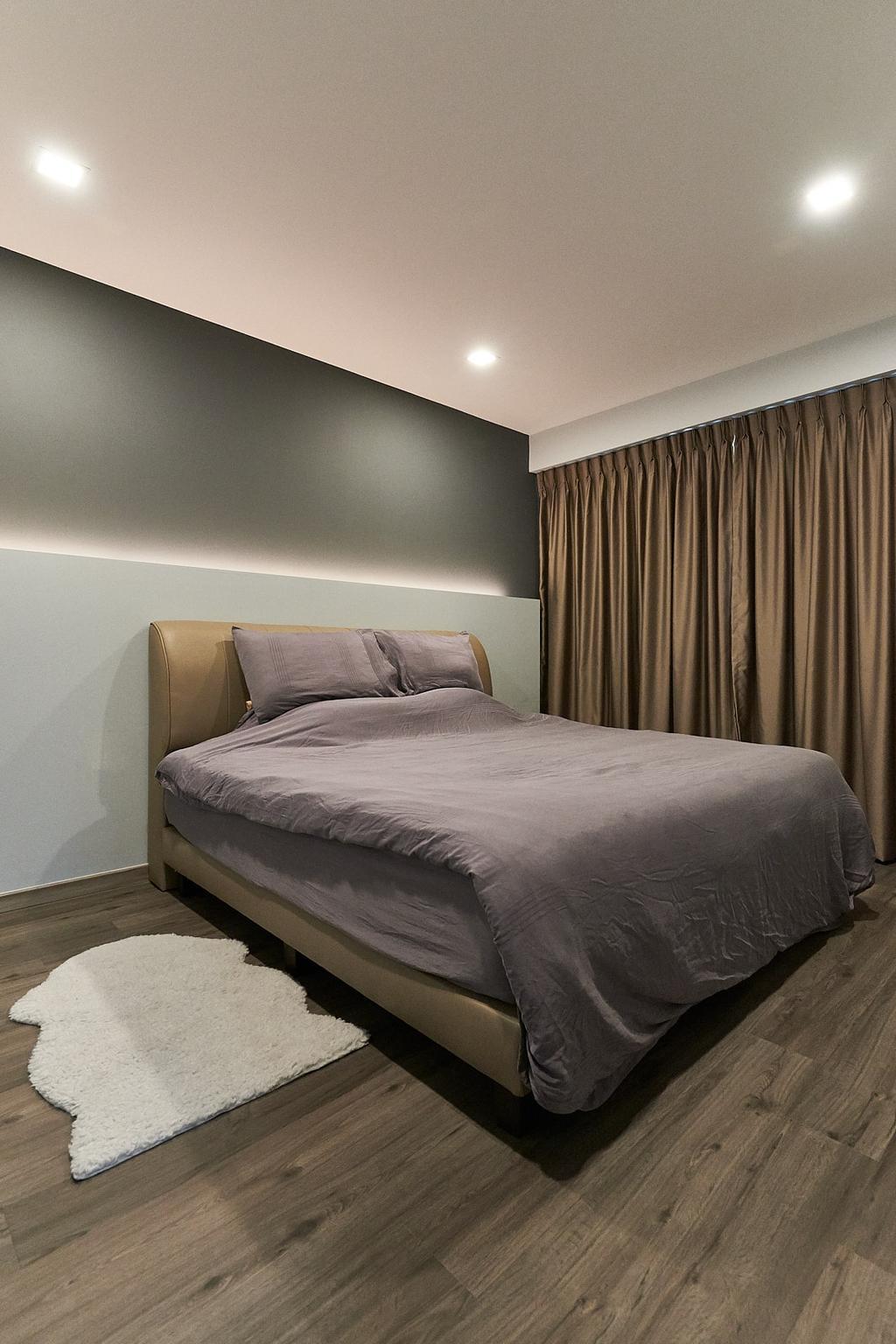 Modern, HDB, Bedroom, Rivervale Crescent, Interior Designer, JC.M Interior