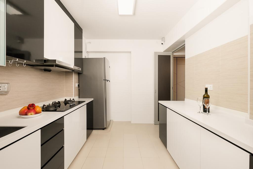 Modern, HDB, Kitchen, Canberra Walk, Interior Designer, JC.M Interior