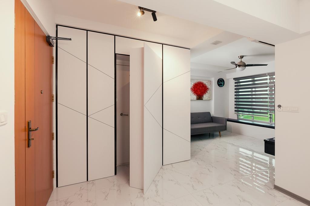 Modern, HDB, Canberra Walk, Interior Designer, JC.M Interior