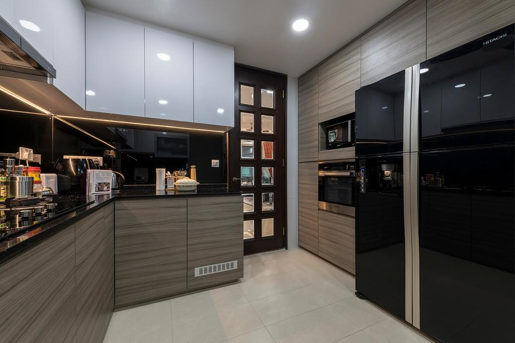 Condo, Kitchen, Pebble Bay, Interior Designer, Glamour Concept
