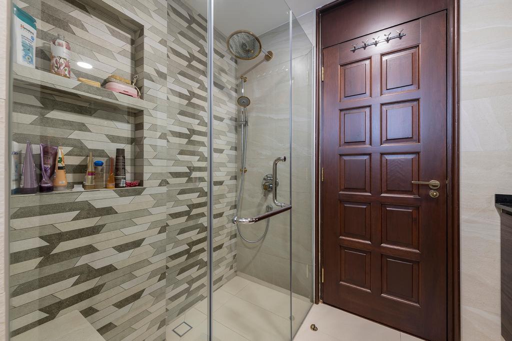 Condo, Bathroom, Pebble Bay, Interior Designer, Glamour Concept