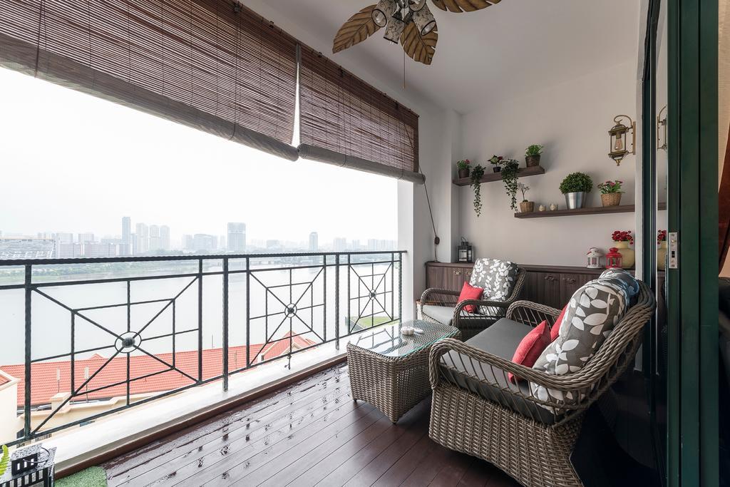 Condo, Balcony, Pebble Bay, Interior Designer, Glamour Concept