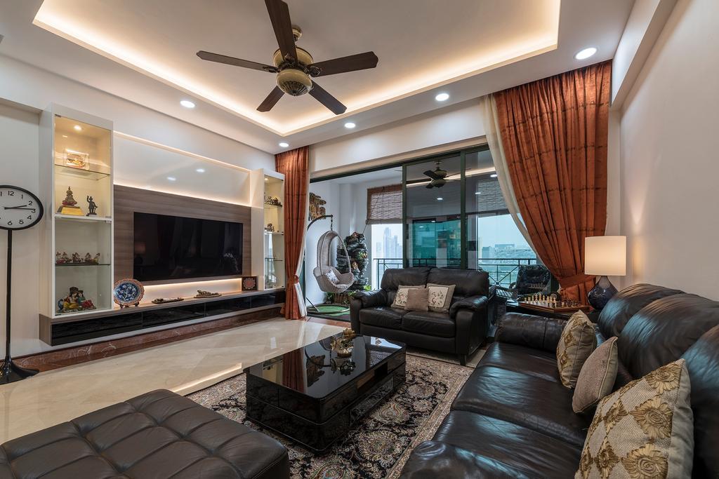 Condo, Living Room, Pebble Bay, Interior Designer, Glamour Concept