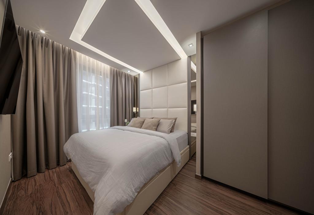 Modern, Condo, Bedroom, The Brownstone, Interior Designer, Weiken.com
