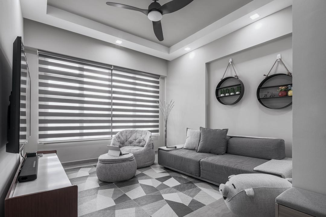 Fernvale Link Living Room Interior Design 5