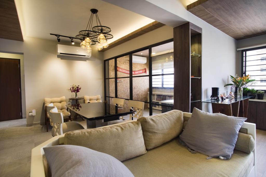 Contemporary, HDB, Living Room, Whampoa Road, Interior Designer, Urban Habitat Design