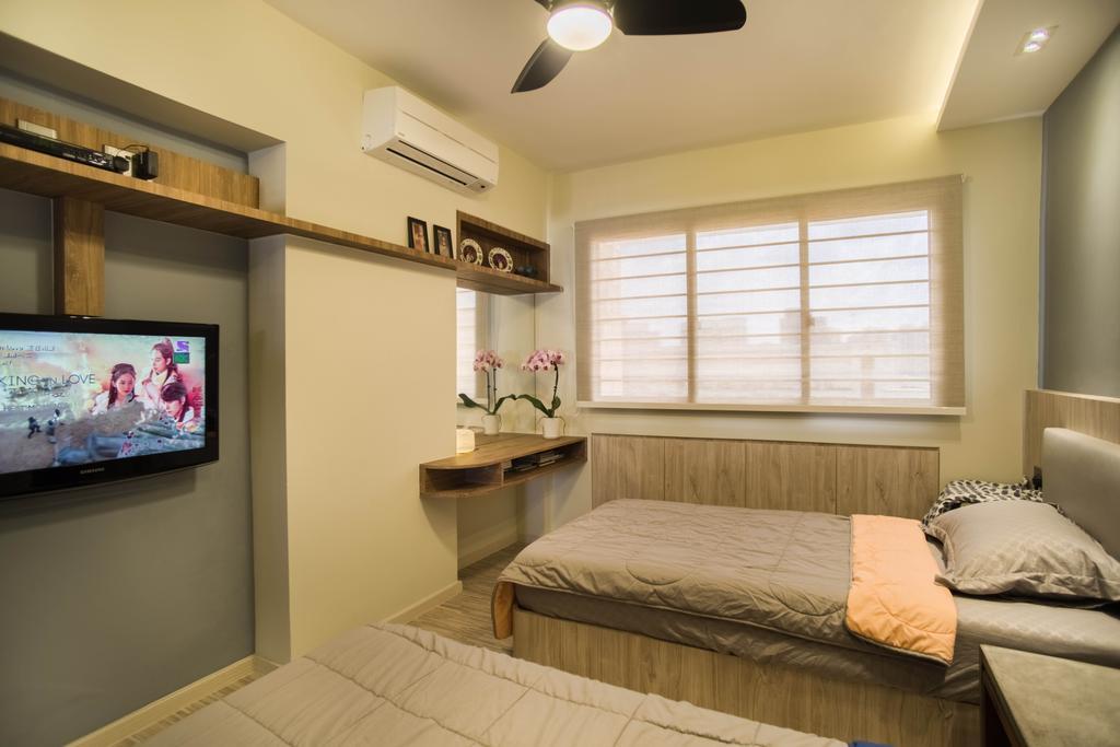 Contemporary, HDB, Bedroom, Whampoa Road, Interior Designer, Urban Habitat Design