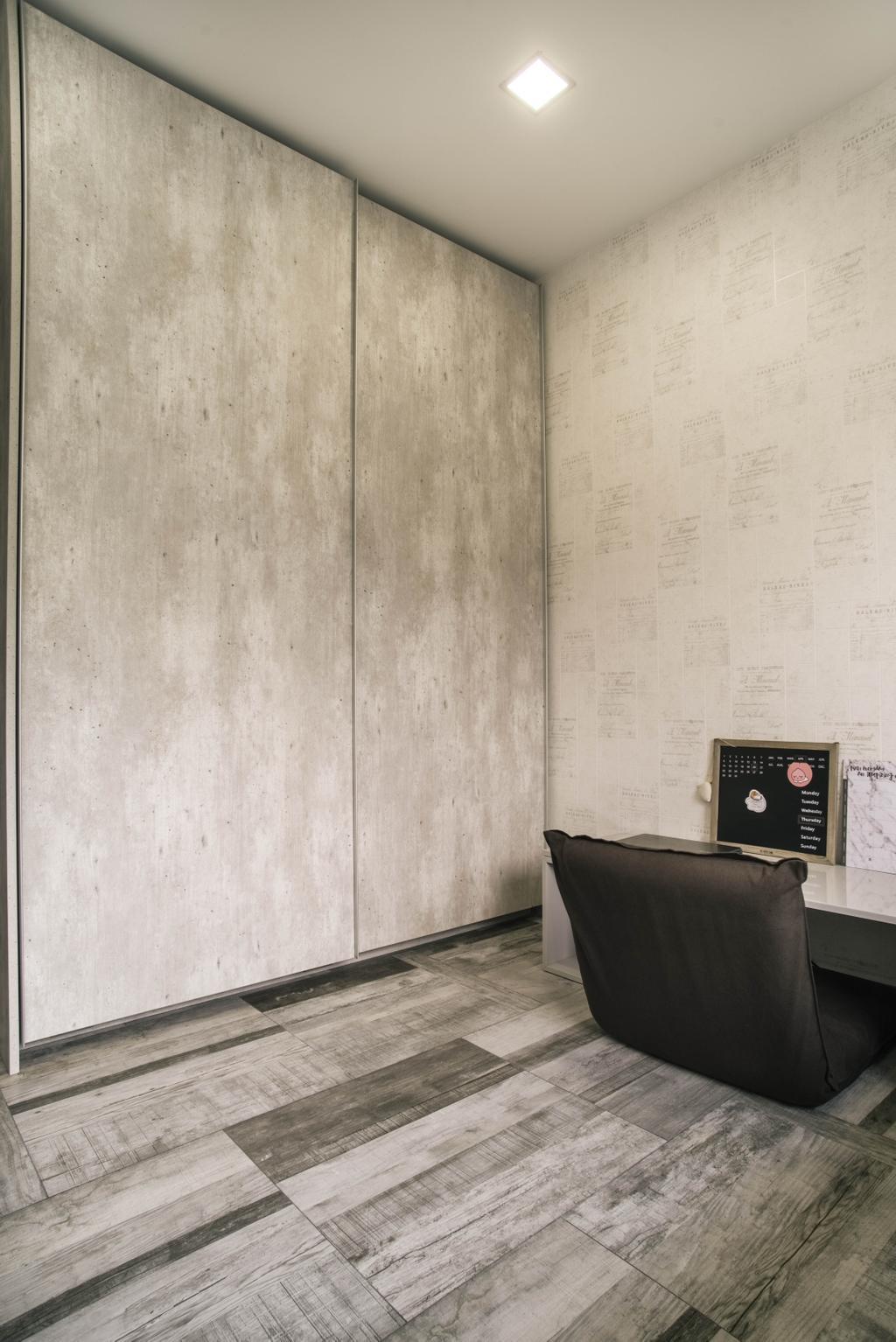 Contemporary, HDB, Compassvale Link, Interior Designer, Urban Habitat Design