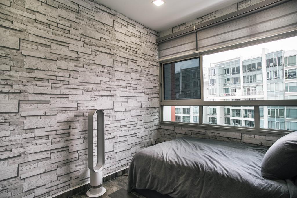 Contemporary, HDB, Bedroom, Compassvale Link, Interior Designer, Urban Habitat Design