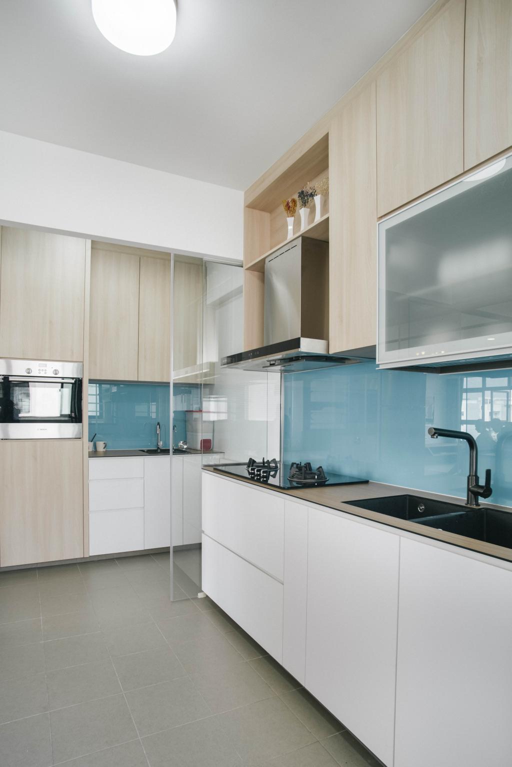 Modern, HDB, Kitchen, Yishun Avenue 4, Interior Designer, Urban Habitat Design