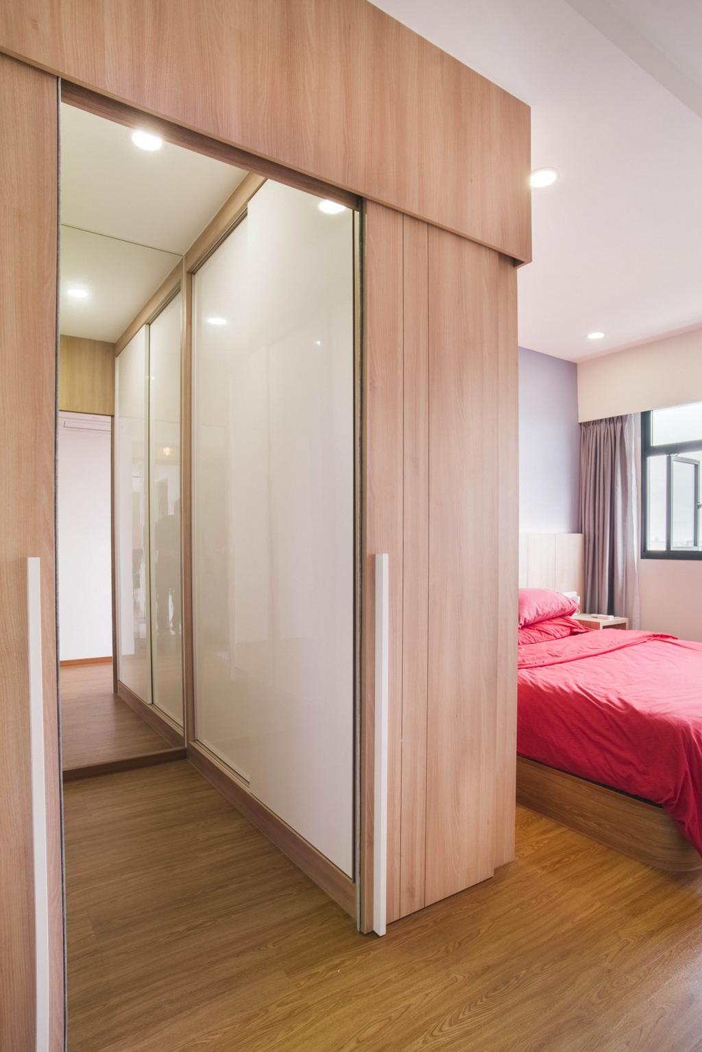 Modern, HDB, Bedroom, Yishun Avenue 4, Interior Designer, Urban Habitat Design