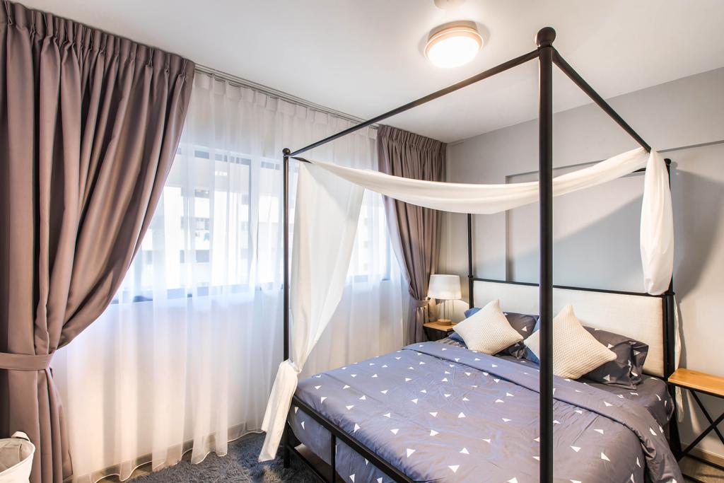 Modern, HDB, Bedroom, Hougang Avenue 2, Interior Designer, Urban Habitat Design
