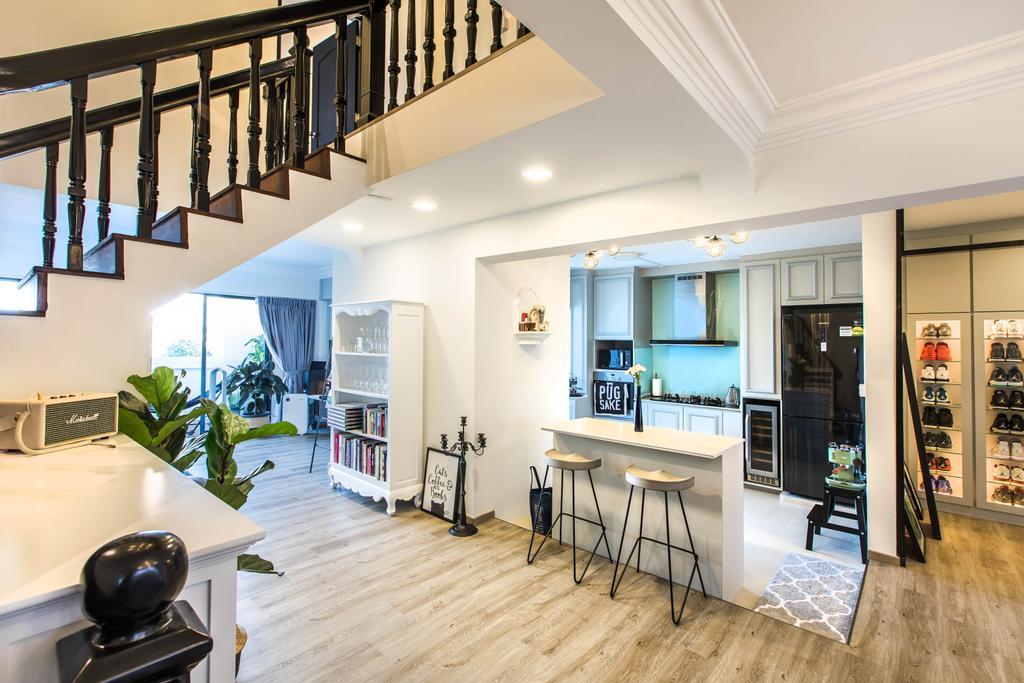 Modern, HDB, Hougang Avenue 2, Interior Designer, Urban Habitat Design