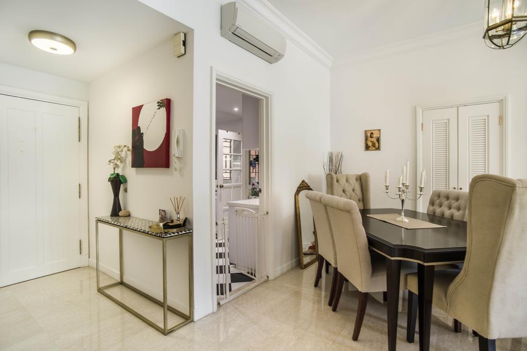 Modern, Condo, Dining Room, Aspen Heights, Interior Designer, Urban Habitat Design