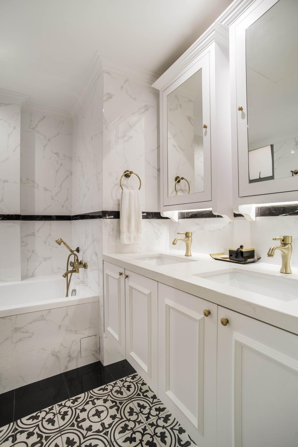 Modern, Condo, Bathroom, Aspen Heights, Interior Designer, Urban Habitat Design