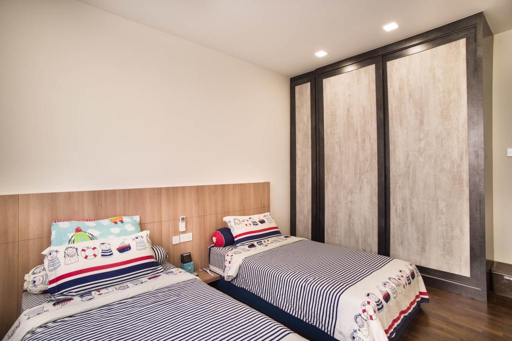 Modern, Landed, Bedroom, Chuan View, Interior Designer, Urban Habitat Design