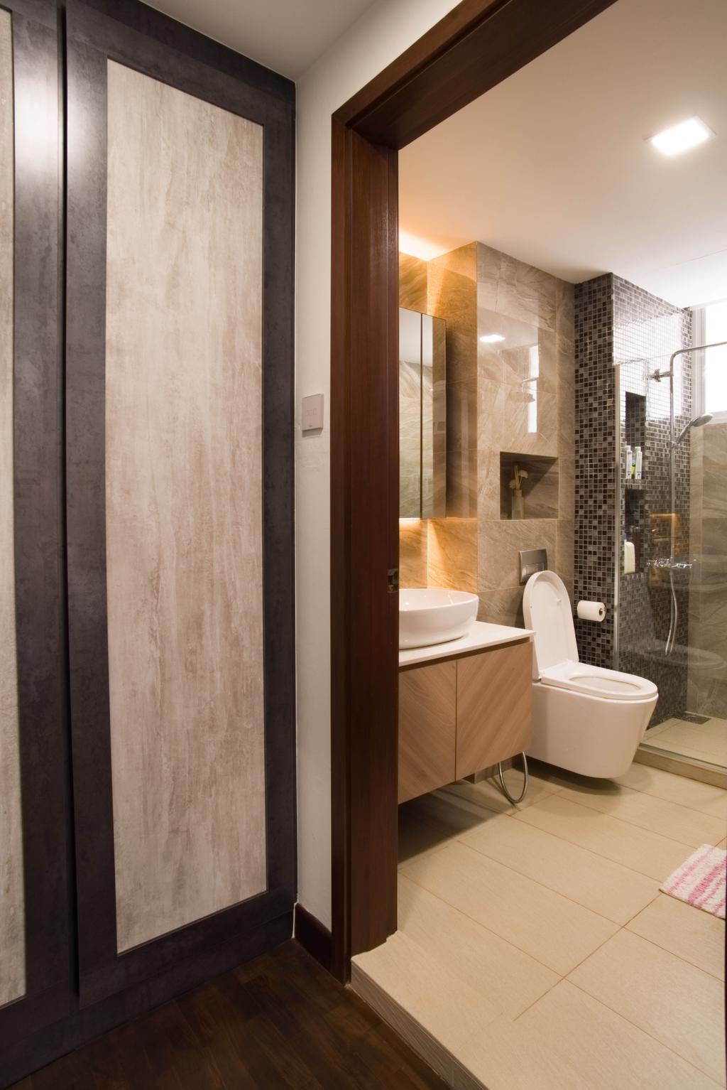 Modern, Landed, Bathroom, Chuan View, Interior Designer, Urban Habitat Design