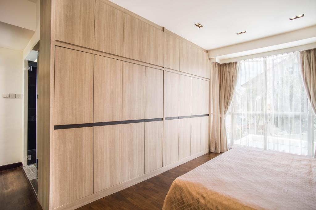 Modern, Landed, Bedroom, Chuan View, Interior Designer, Urban Habitat Design