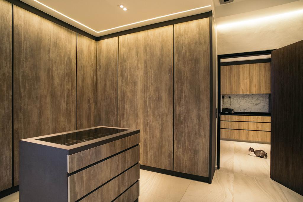 Contemporary, Landed, Jalan Gaharu, Interior Designer, Urban Habitat Design