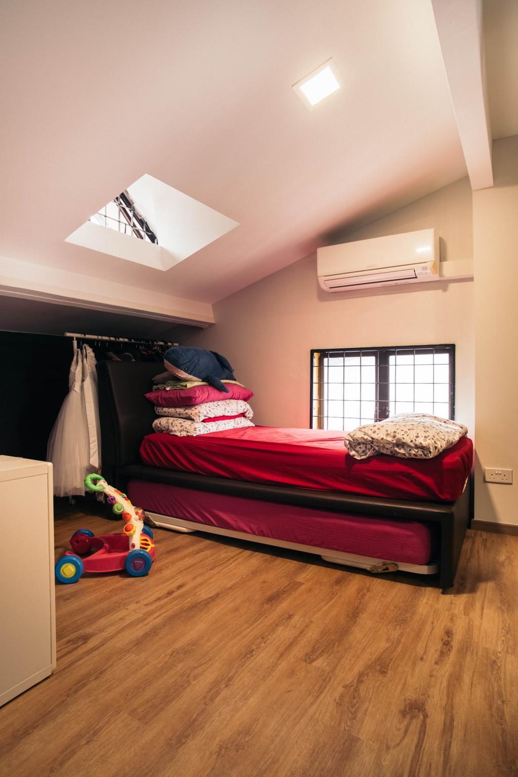 Contemporary, Landed, Bedroom, Jalan Gaharu, Interior Designer, Urban Habitat Design