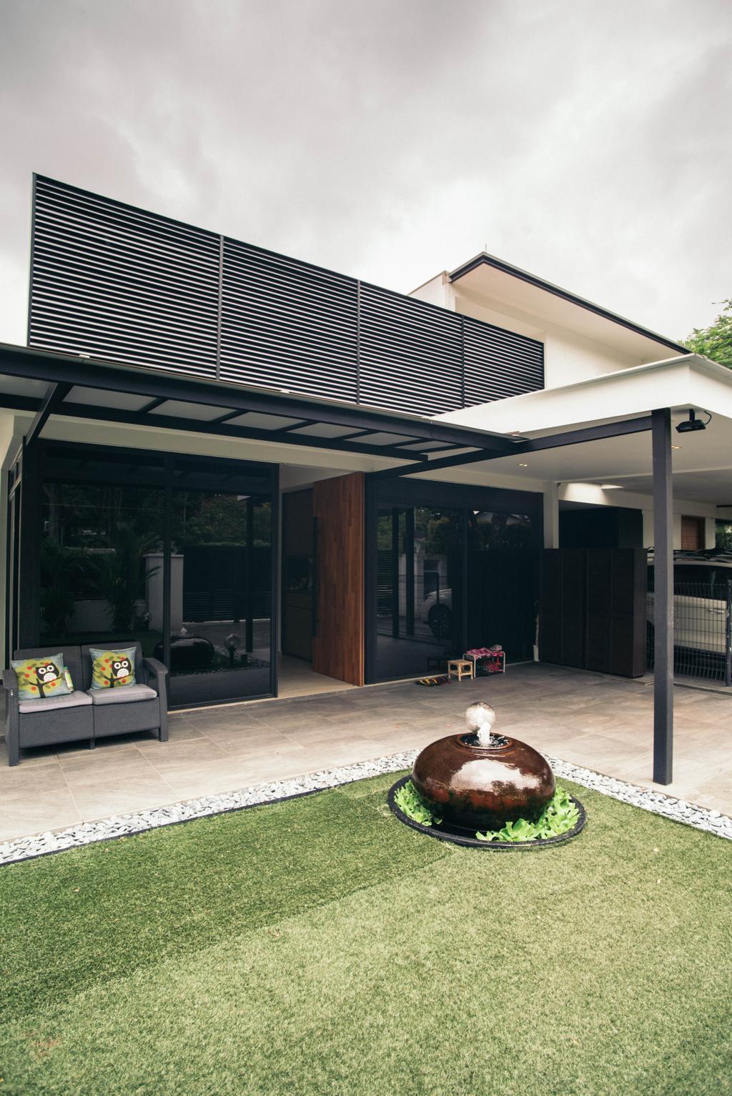 Contemporary, Landed, Garden, Jalan Gaharu, Interior Designer, Urban Habitat Design