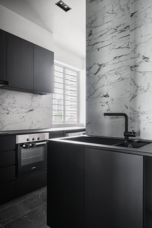 Contemporary, Condo, Kitchen, Tierra Vue, Interior Designer, Habit