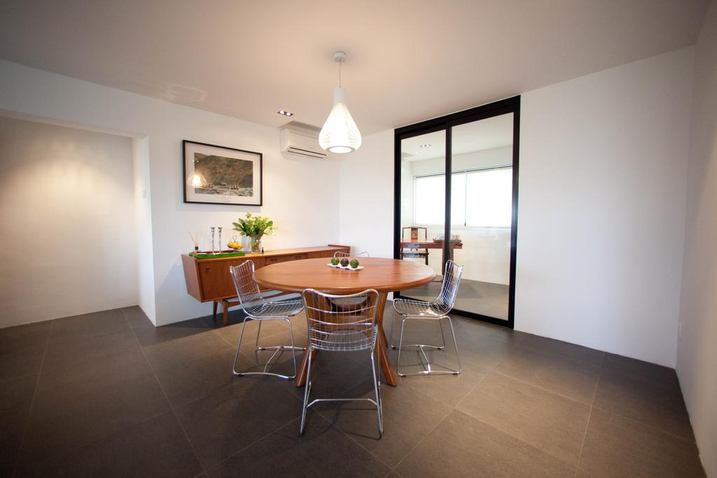 Contemporary, HDB, Dining Room, Bedok South, Interior Designer, Create