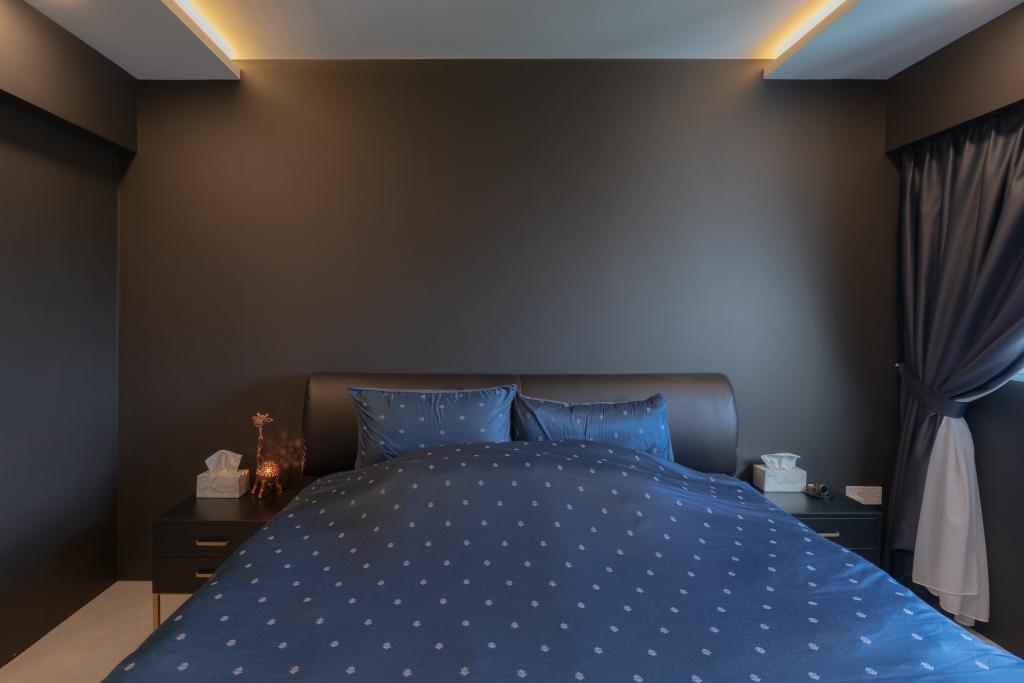 Eclectic, HDB, Bedroom, Lorong Limau, Interior Designer, Chapter One Interior Design